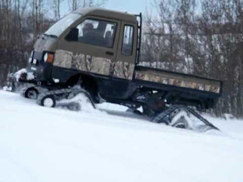 Daihatsu Hijet with Tracks-Samurai Trucks 2010 Winter