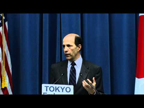 U.S. Ambassador to Japan John Roos Discusses the Decision to Distribute Potassium Iodide