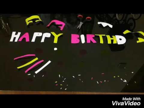 Stop Motion Happy Birthday Friend