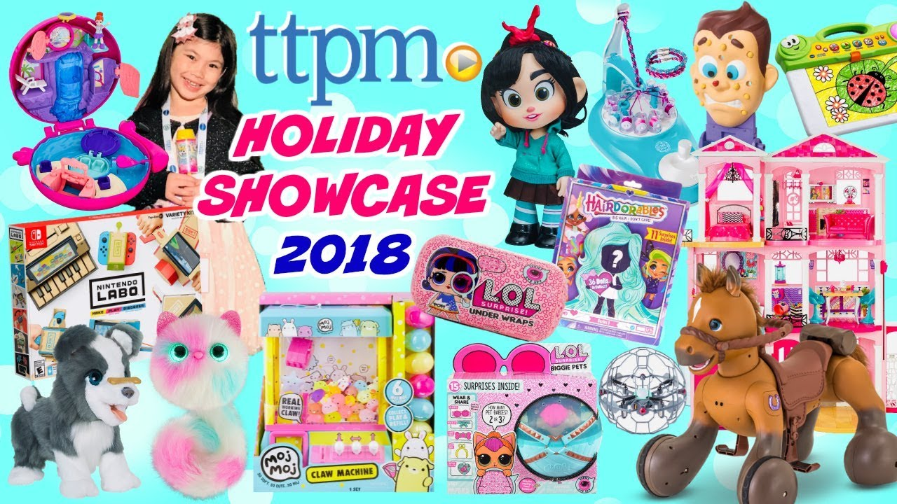 Ttpm Holiday Showcase 2018 2019 Top 20 Hottest Toys For