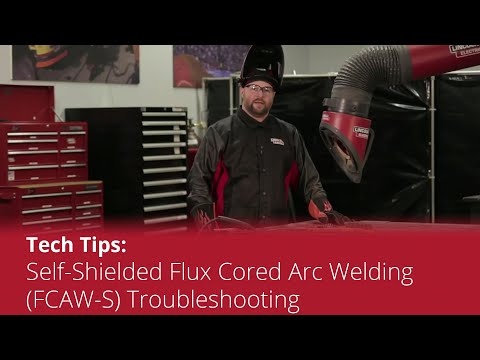 Tech Tip Flux Cored Fcaw S Troubleshooting Youtube