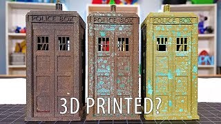 3D Printing with Metal Composites and adding a Patina and Oxidation!