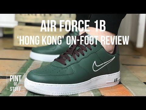 Nike AF1'Hong Kong' Sneaker On-foot Look with Mr B.