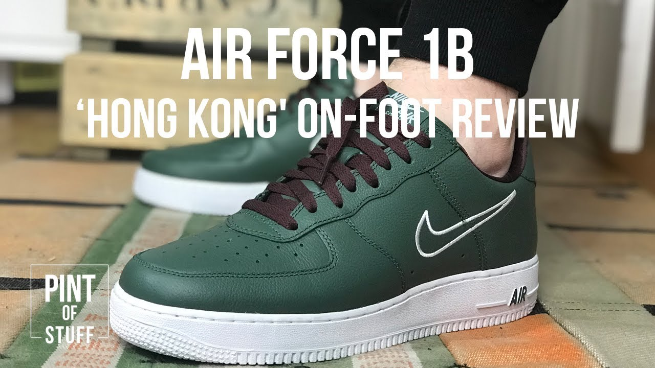 NIKE AIR FORCE 1 HONG KONG RETRO 2018 | ON FEET + UNBOXING