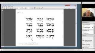 Библейский Иврит для начинающих-Урок 2
