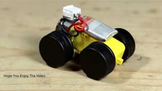 How to make a Mini Electric Car at home   Powerful Toy Car   YouTube