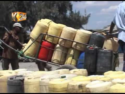 Residents cry foul as acute water shortage hits Kitengela