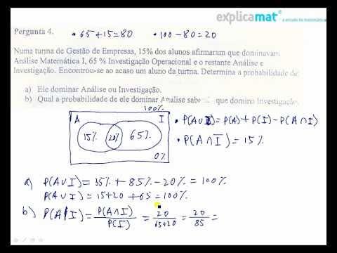 Exerccio de probabilidades com diagrama de ven youtube exerccio de probabilidades com diagrama de ven ccuart Images