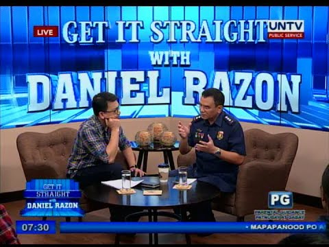 UNTV: C/Supt. Guillermo Lorenzo Eleazar on Get it Straight