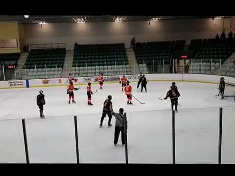 6 DEC 2016 Contested Goal Clarence Rockland Crush vs Ottawa West Golden Knights Minor Midget B1