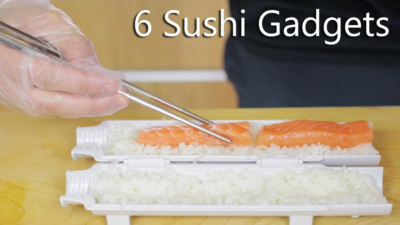 Gadget Cuisine 6 Sushi Gadgets To Help You Make Great Sushi