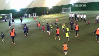 Epic! Chelsea's First Team Take On the Academy Under-8's