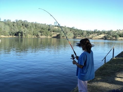 Fishing at lake tulloch by verdugoadventures youtube for Lake tulloch fishing