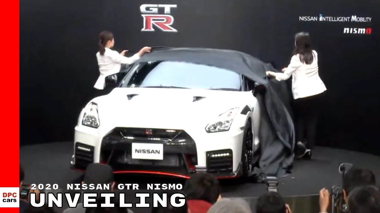 2020 Nissan Gtr Nismo Unveiling