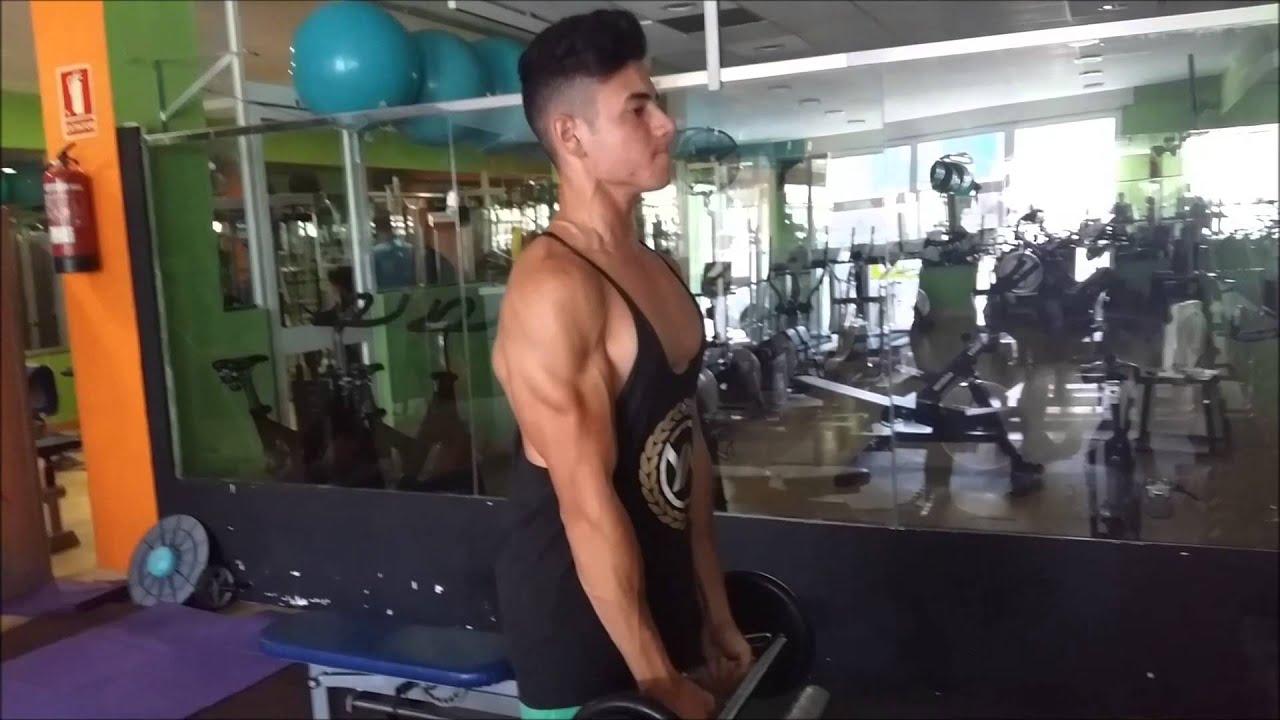 Como ganar volumen en triceps