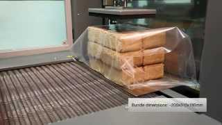 RUF briquettes packaging with automatic sleeve wrapping machine, STROJPLAST, packaging technology