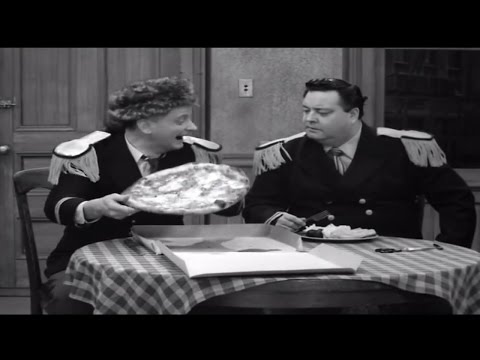 """Poor Li'l Pizza!"" (from The Honeymooners ""Pardon My Glove"")"