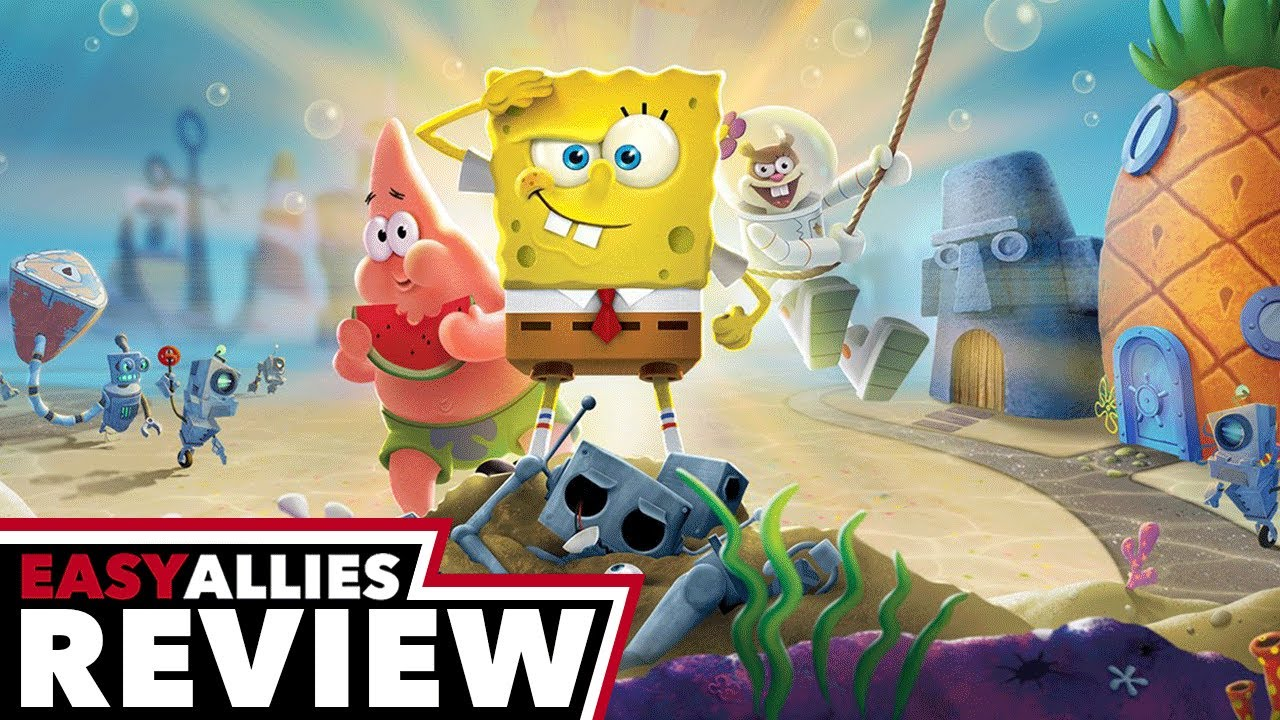 SpongeBob SquarePants: Battle for Bikini Bottom - Rehydrated - Easy Allies Review (Video Game Video Review)