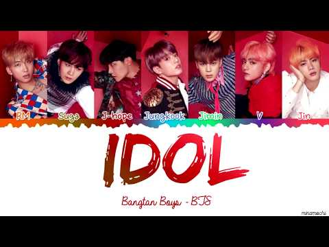 BTS (방탄소년단) - IDOL Lyrics [Color Coded Han_Rom_Eng]