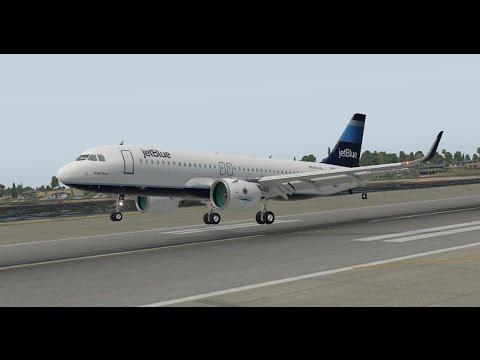 X plane 11   Jar Design A320   My best landing yet!   Enjoy!