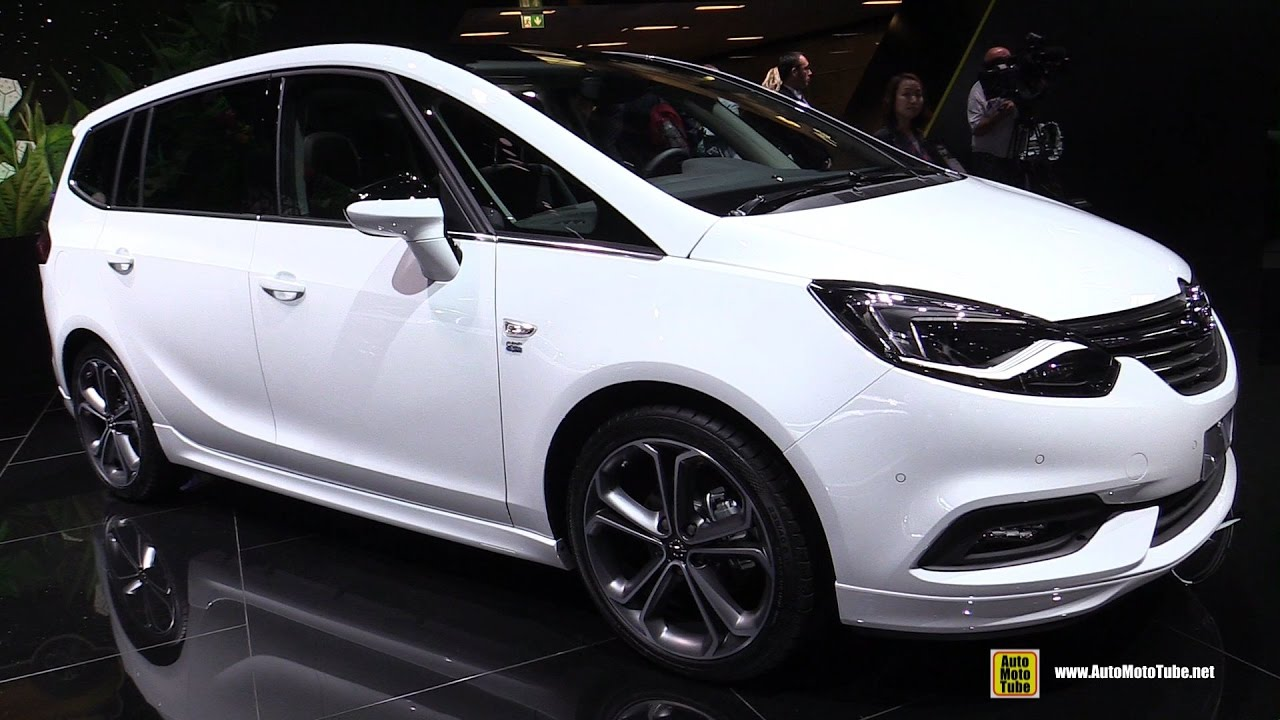 2017 opel zafira 1 4 turbo 140hp exterior and interior walkaround 2016 paris motor show. Black Bedroom Furniture Sets. Home Design Ideas