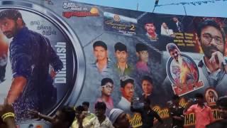 Nellai ram cinemas.. Dkm dhanush fans... Vip 2 release.. Today...