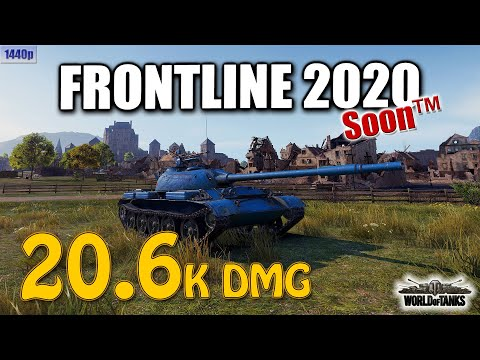 Frontline 2020, 20.6k Dmg, Best World Of Tanks Games