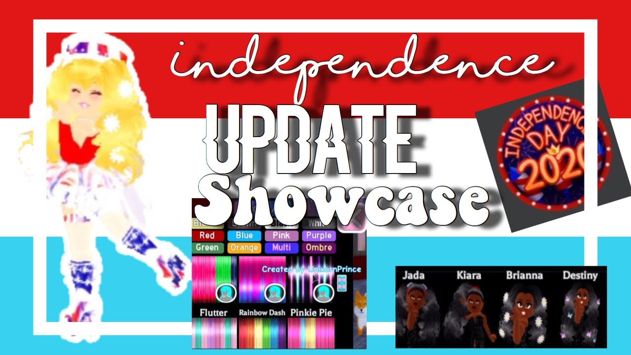 new royale high independence day  update showcase!    ♡