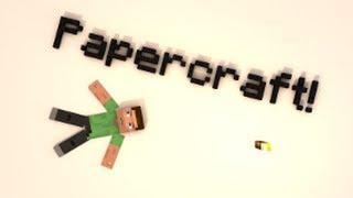 Tutorial - Como Fazer Um PaperCraft Da Sua Skin Do Minecraft
