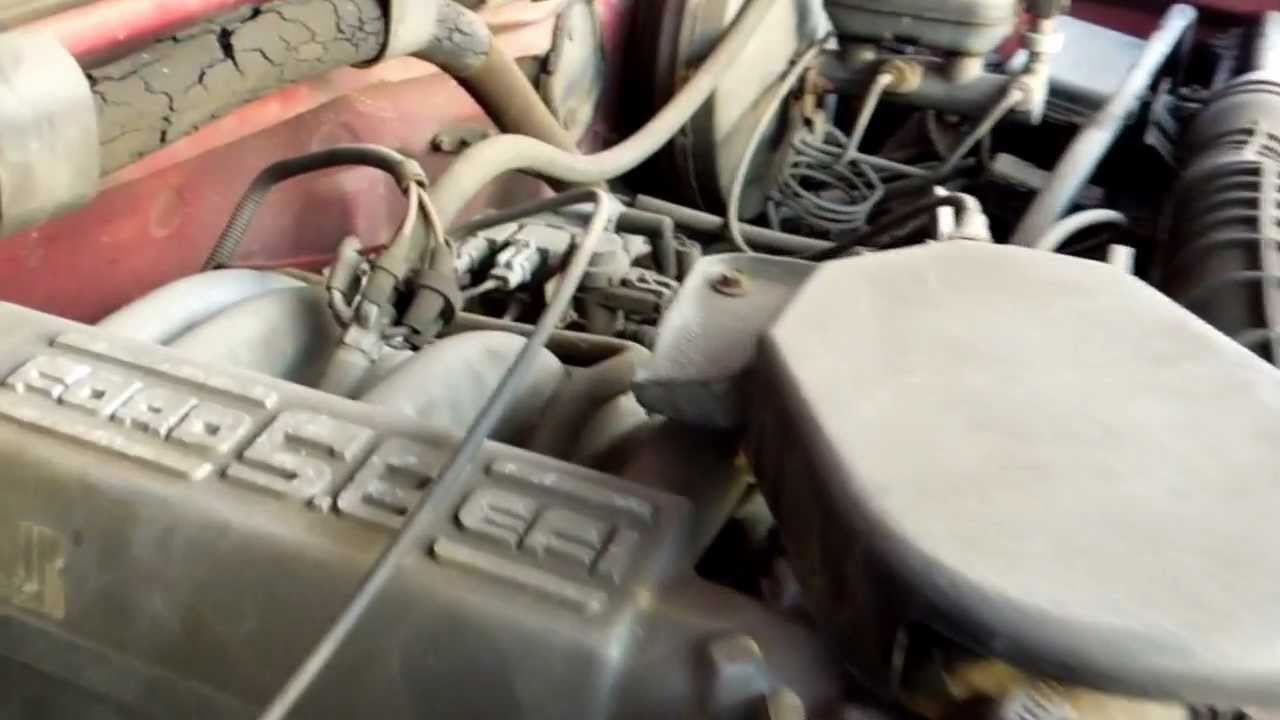 1986 ford f150 engine diagram honeywell boiler aquastat wiring 1994 5 8l efi pcv valve location youtube