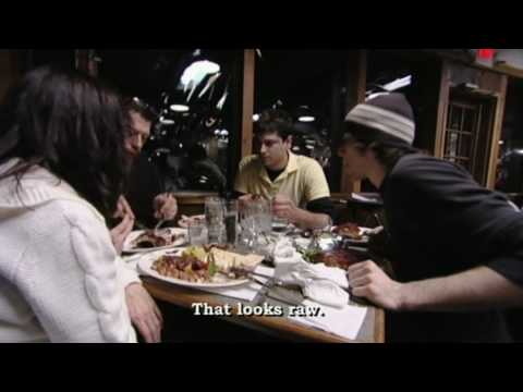 Chef ramsay furious at head chef kitchen nightmares doovi for Kitchen nightmares fake