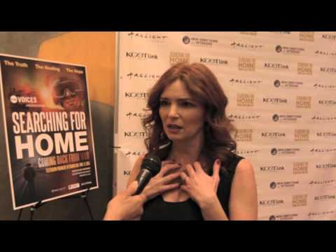 Army Wives Cast Reunite At Searching For Home Documentary with Kim Delaney