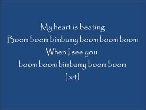 Dj Cammy  Boom boom Lyrics