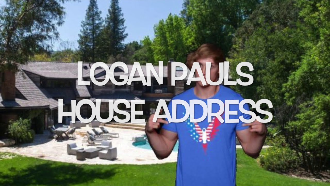 HOW TO find Logan Pauls Address | Maverick House Exposed