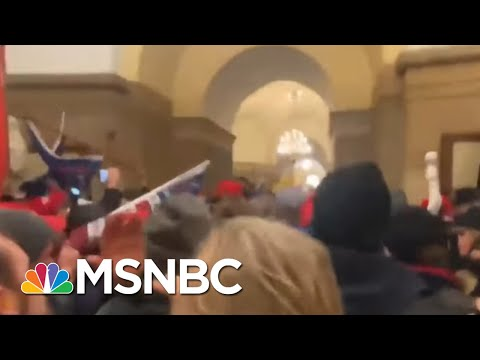 First Federal Charges Filed For Capitol Rioting Yesterday   MTP Daily   MSNBC