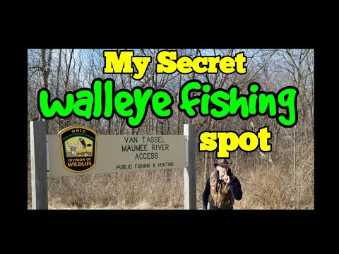 Walleye Run Fishing Spots On The Maumee River Wood County #1