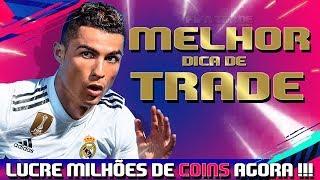 FIFA 19 - DESCUBRA COMO FICAR MILIONÁRIO NO ULTIMATE TEAM - WEBAPP [FTRADE YOUTUBER]