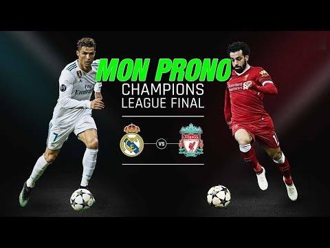 MON PRONO safe REAL LIVERPOOL finale champions league 2018