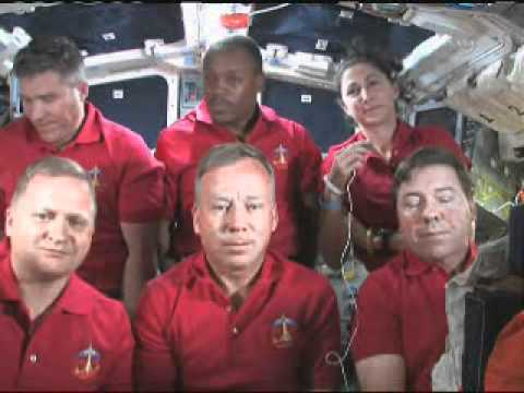 STS-133: talk with ABC, CBS  and The AP
