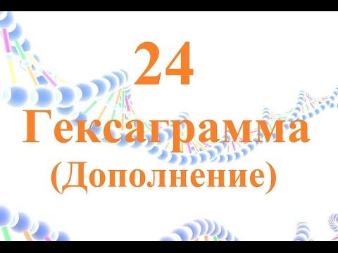 24 Гексаграмма дополнение