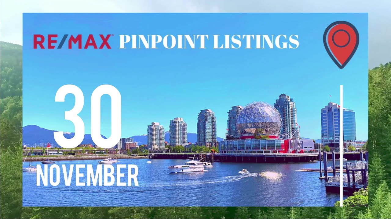 Nov 30 2020 Vancouver Real Estate Sales