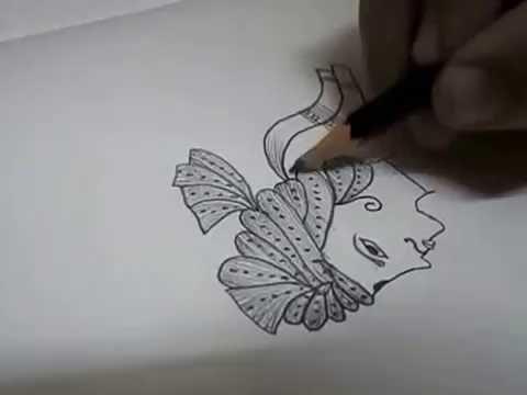 Mehndi Patterns Easy On Paper : Dulha dulhan mehndi design bridal var youtube