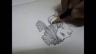 Dulha & Dulhan Mehndi Design 3 (Bridal Mehndi Design) Var