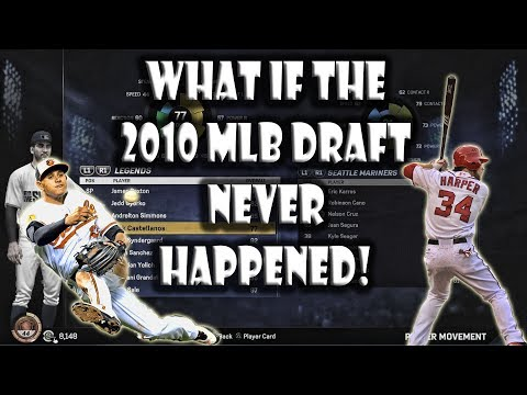What if the 2010 MLB Draft NEVER Happened? MLB The Show 17