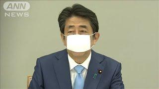 緊急事態宣言を今月末まで期間延長 安倍総理が表明(20/05/04)