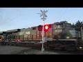 NS 8144 East Loaded Unit Train (2-5-2017)