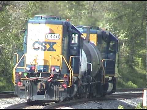CSX at Work w/ more Trespassers