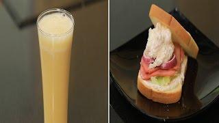 سندوتش جبنة كريمية بالفجل المفروم - شاي مثلج بالليمون | سندوتش وحاجة ساقعة حلقة كاملة