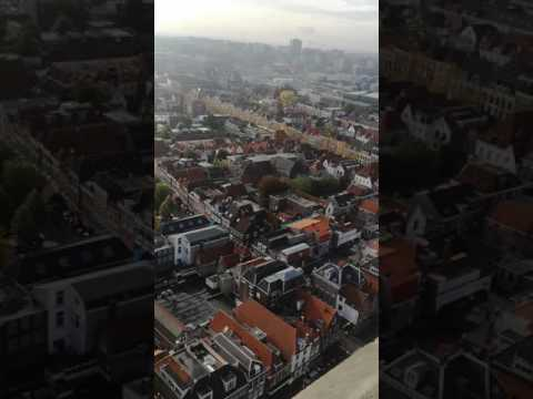 AMAZING view from church in Delft, Nederlands - Must see!!!!