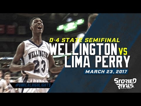 HS Basketball   Wellington vs Lima Perry [STATE SEMIFINAL] [3/23/17]
